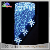 indicatore luminoso di via esterno del Palo della decorazione di natale di 3D LED