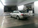 Placa giratória do carro do espaço de estacionamento estreito