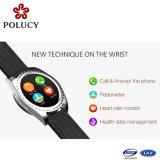 安いBluetoothの電話スクリーンの接触スマートな腕時計