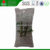 Saco de purificação de ar de carvão de bambu para remover bactérias tóxicas Odor