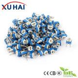 10k resistor ajustável do potenciômetro do ajustador dos terminais do ohm 3