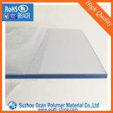 Strato 2mm, strato trasparente rigido del PVC del PVC con la pellicola del PE due per il piegamento freddo, prezzo dello strato del PVC