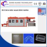 PlastikwegwerfThermoforming Maschine für Schnellimbiss-Kappe und Tellersegment