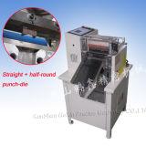 PP Tape Hot Cutting Machine With Straightおよび半分Roundの穿孔器Die (HX-160A)