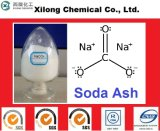 Industria de alta calidad Grado ceniza de soda densa y luz, carbonato de sodio