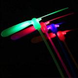 LEDの白熱手のプロペラのおもちゃ