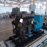 генератор молчком тепловозного трейлера генератора 125kVA передвижной тепловозный