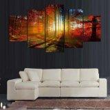 HD a estampé la peinture estampée par forêt sur l'illustration Ym-010 encadré par toile d'affiche d'impression de décoration de toile