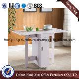 Einfacher hölzerner schwarzer seitlicher Tisch (HX-6M350)