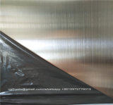 Bladen 304 van het roestvrij staal het Satijn van Nr 4 eindigen met pvc van de Film van Cuting van de Laser