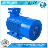 De Ce Goedgekeurde Y3 Motor van de Efficiency voor de Machines van het Vervoer met aluminium-Staaf Rotor