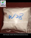 人工的な白い鋼玉石の高い純度