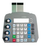 Geprägter Kreisläuf-Drucken-grafischer Testblatt-Basissteuerpult-Membranschalter