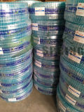 Boyau de jardin flexible vert de PVC pour le boyau de l'eau d'irrigation de l'eau