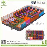 Het gymnastiek- Park van de Trampoline voor Volwassenen, het Stootkussen van de Veiligheid van de Trampoline voor Jonge geitjes