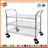 O fio de metal arquiva o armazenamento da cozinha da garagem e a organização ajustáveis (Zhw95)