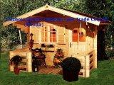 Chambre en bois préfabriquée (QZW8006)