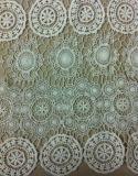 Lacet 100% d'accessoires de tissu de coton de mode pour la robe de vêtement (BP-034)