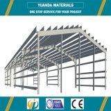 Здание стальной структуры пакгауза мастерской изготовления конструкции