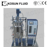 20L 30L 50L Stainless Steel and Glass Industrial Fermentor Bioreactor