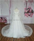 Neues Modell-geschwollenes Ballkleid-Hochzeits-Kleid des Sequinned Schattenbild-2016