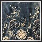Связывать-Покрашенный сплетенный шнурок вышивки полиэфира шнурка вышивки отверстии цвета джинсыов шнурка вышивки