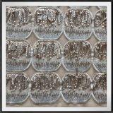 Ineinander greifen-Stickerei mit Sequins-Tulle-Stickerei mit Sequinssequins-Stickerei-Spitze