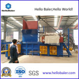 Автоматический горизонтальный гидровлический Baler неныжной бумаги с транспортером
