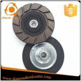 Borde concreto de 7 pulgadas que muele la rueda en enlace de cerámica de la taza