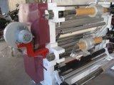 Vertical automático de corte longitudinal y rebobinado de la máquina