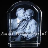 Álbum de foto cristalino de la boda de oro (ND1003)