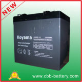 batterie profonde de gel de cycle de 12V 55ah pour la mobilité médicale