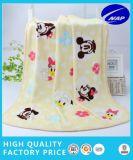 Coperta del bambino stampata panno morbido della flanella, coperta dei capretti, coperta infantile