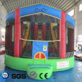 販売LG9049のためのココヤシ水デザイン膨脹可能な城か警備員
