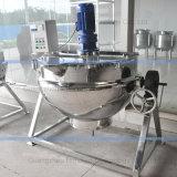 Chaleira de mistura Jacketed do vapor do aço inoxidável de produto comestível