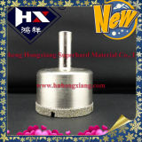 Plaquer le trou de diamant a vu pour le perçage en céramique/plaque le peu de foret
