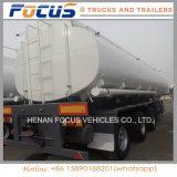 del volumen 41cbm del petrolero acoplado del carro semi para el transporte de Bituman