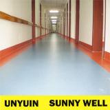 Rodillo anti usado hospital del suelo del vinilo del PVC de los parásitos atmosféricos