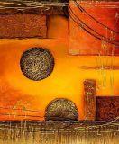 Peinture à l'huile abstraite (AB001)