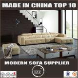 Sofa utilisé 2017 par maisons de cuir véritable pour la salle de séjour