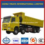 Camion- lourd de roues du camion à benne basculante de Sinotruk 8X4 40t HOWO 12