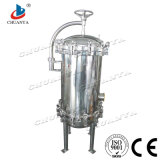 Ro-Wasser-Reinigungsapparat-Edelstahl poliertes kundenspezifisches multi Kassetten-Filtergehäuse