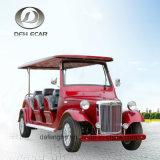 4 Sitzcer-anerkannte elektrische besichtigenauto-neue Energie-Karren-langsame Fahrzeug-Golf-Karre