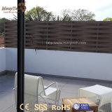 Im Freien einfache Zaun-Aluminiumpanels der Installations-Garten-Webart-WPC für Verkauf