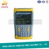 Analisador trifásico Handheld da qualidade da potência da fase monofásica do medidor da eletricidade (ZXDN-3001)