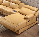 2017 جديدة يعيش غرفة [ركلينر] جلد أريكة قطاعيّة