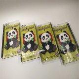 Herinnering van de Magneet van de Koelkast van pvc van de Vorm van de panda de Zachte Rubber