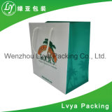 Nuovi sacchi di carta d'acquisto personalizzati del regalo con la maniglia dalla Cina