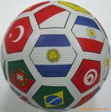 5#ゴム製サッカーボール、粒子の表面