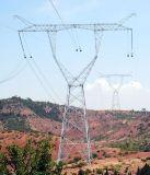 башня передачи силы 66kv 110kv стальная для проекта
